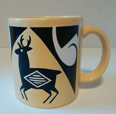 Waechtersbach W. Germany Deer Coffee Cup mug in Collectibles, Decorative Collectibles, Mugs, Cups | eBay