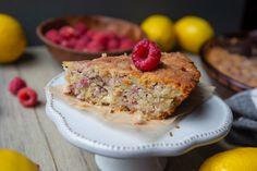 Raspberry Lemon Butter Cake -- OMG so good. Whole Food Recipes, Keto Recipes, Keto Desserts, Flaxseed Flour, Ambrosia Recipe, Cake Works, Raspberry Lemonade, Lemon Butter, Cake Servings