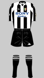 juventus 1998 uefa champions league kit