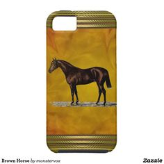Brown Horse iPhone SE/5/5s Case #Horse #Animal #Mobile #Phone #Case #Cover #iPhone