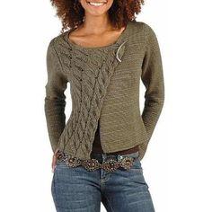 Knitting sweaters for women crochet cardigan Super Ideas Crochet Cardigan, Sweater Knitting Patterns, Knitting Designs, Knit Patterns, Knit Crochet, Knitting Sweaters, Outlander Knitting Patterns, Chunky Crochet, Knit Cowl