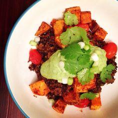 { Quinoa & Black Lentils } | Love & Light Kitchen #quinoa #lentils #Vegan #Vegetarian