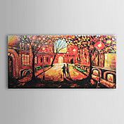Hand-painted  Abstract Oil Painting  with Str... – USD $ 79.99