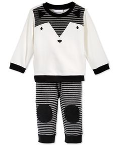First Impressions Baby Boys' 2-Piece Fox Top & Pants Set, Only at Macy's - Kids & Baby - Macy's