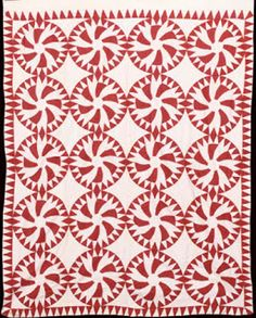 Barbara Brackman's MATERIAL CULTURE: National Wear Red Day: A Free Pattern