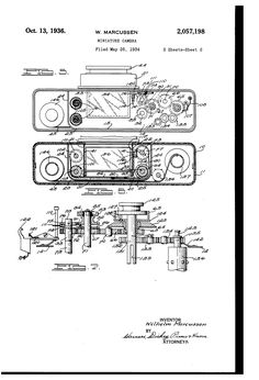 Patent US2057198 - Miniature camera - Google Patents - OCT 13, 1936