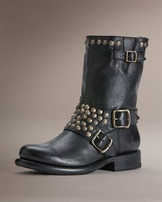 Jenna Studded Short - View All Women's Boots - Western Boots, Riding Boots & More - The Frye Company