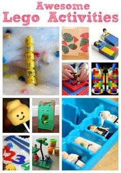 Awesome Lego Activities - Crafts on Sea