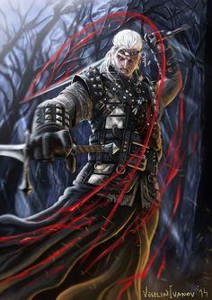 Geralt by Rukuarimo on DeviantArt