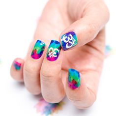 GUMMÍ NAILS - Fall 2013 Collection (Psychedelic Om) #nails #gumminails #cozycot