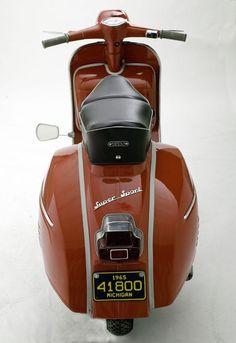 Vespa 180 Super Sport, since 1964