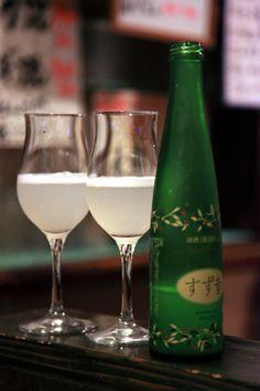 Sparkling sake, the latest trend