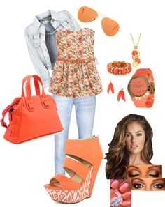 """""""Spring!"""" by daaaiu ❤ liked on Polyvore"""