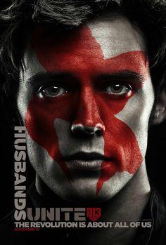 Finnick poster Hunger Games Mockingjay Part 2