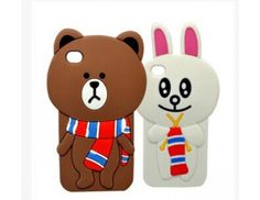 Cutest Line Brown Cony Silicon Case for iPhone 5/5S http://www.favor2buy.com/cutest-line-brown-cony-silicon-case-for-iphone-5-5s.html#.VRIXTVfIydo