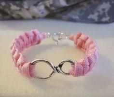 Infinity Custom Paracord Bracelets Fashion Accessories