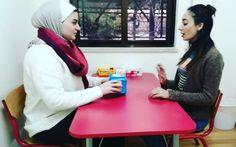 """يمكن زيادة #التواصل عند #الأطفال الذين يعانون من مشاكل في التواصل عن طريق #اللعب بألعاب تتضمن #التفاعل مع الآخرين. حيث يجب على #الطفل عند ازالة اللعبة من امامه ان يقول """"باي"""" للعبة أو التلويح بيده. #مركز_تي_ار_اس_التعليمي #مركز_trs_التعليمي #عمان #الاردن #amman #jordan #ammankids #trslearningcenter #nonverbal #autism #توحد Child Development Activities, Learning Centers, Communication, Children, Young Children, Kids, Communication Illustrations, Children's Comics, Sons"""