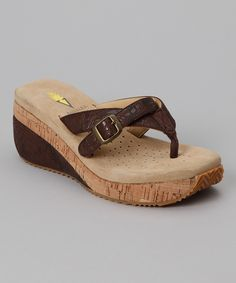 $34.99 on Zulily reg. $53 Brown Isla Sandal from Volatile