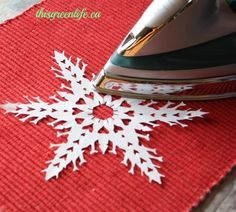 How To Make 6-Pointed Paper Snowflakes