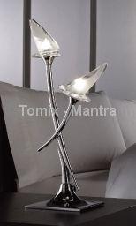 Lampa stołowa FLAVIA antique brass (0371) - Mantra