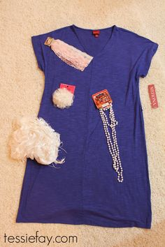 Tessie Fay: DIY Flapper Costume