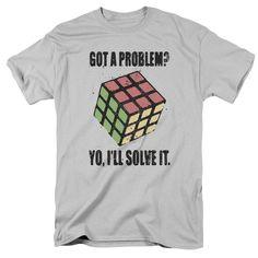 Rubik's Cube: Problem Solver T-Shirt