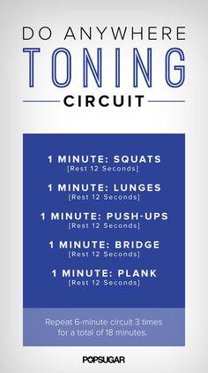 A Drop-and-Do-Anywhere Circuit Workout (via Bloglovin.com )