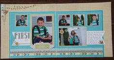 Scrappy Hour - CTMH Skylark WOTG Layout