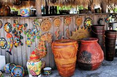 Tiki Bar Decoration Ideas | ... Daily Photo Supporters: Victoria's Pottery... & Tiki Huts Too