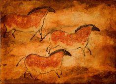 PREHISTORIC ART HORSES - Buscar con Google