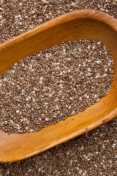 Chia Seeds!  Dr. Oz recently named chia seeds one of the top five supplements women should take.