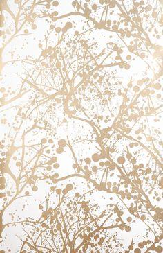 wilderness wallpaper #wallpaper #ferm #gold