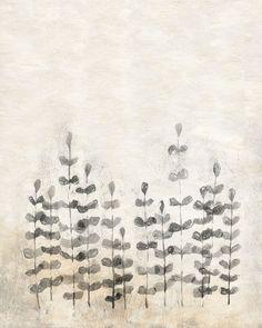 Art Print Ferns 8x10 Modern Wall Decor by calamaristudio on Etsy