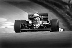 F1. Ayrton Senna Lotus 97T. Cars like the 97T used a turbo charged 1.5L engine…