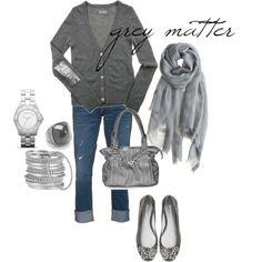 grey matter, created by robinh on Polyvore