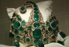 Splendido esempio della corona indiana