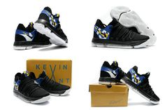 best service 9f11f 13ff3 Nike KD 10 X Blinders Black White Multi Color Workout Shoes, Air Jordan  Shoes,