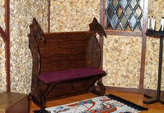 Hey, I found this really awesome Etsy listing at https://www.etsy.com/listing/103261843/dragon-bench-medieval-dollhouse
