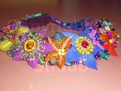 Roseann Straub's Slovak Flower Garden (Beads)