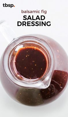 Balsamic Fig Salad Dressing - Figs bring a bit of sweetness and a slightly thic. - Balsamic Fig Salad Dressing – Figs bring a bit of sweetness and a slightly thickened texture tha - Cheese And Wine Tasting, Wine And Cheese Party, Wine Cheese, Balsamic Fig Dressing Recipe, Balsamic Vinegarette, Vinaigrette, Fig Sauce, Plant Based Eating, Whole Food Recipes