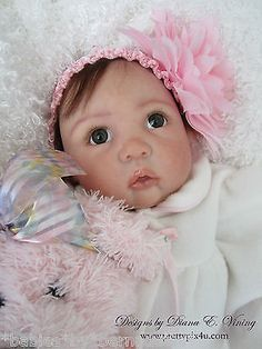 "MEGAN 20"" Doll Kit by Beverly Stoehr LIMITED TO 150 KITS ~3/4 Limbs IN STOCK NOW"