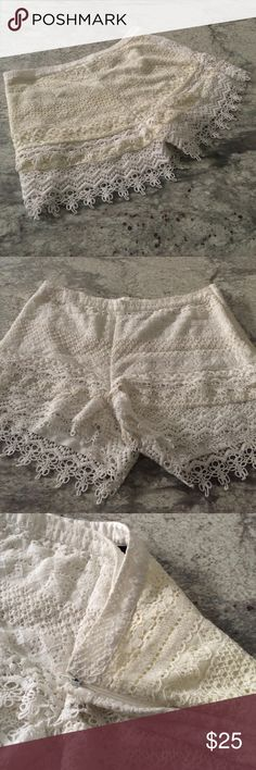 H&M Crotchet Style Shorts Different Colors On Both Sides H&M Shorts