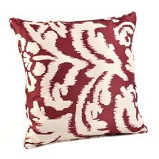Christmas decorations can emerge through your accessories. Try bringing in a few crimson Ikat pillows.
