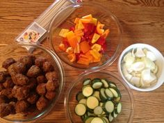 Prep for Paleo Kabobs