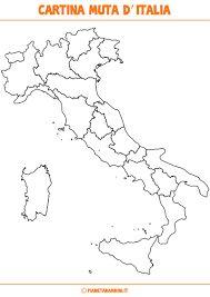 Risultati immagini per regioni e capoluoghi italiani cartina