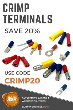 20% off - Electrical Terminals