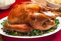 Basic Roasted Turkey - my favorite turkey recipe. So simple and delicious