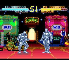 World Heroes 1 [SNES].