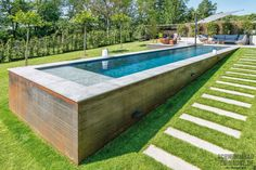 Höher, Weiter, schneller Small Backyard Pools, Backyard Pool Designs, Small Pools, Swimming Pools Backyard, Swimming Pool Designs, Mini Swimming Pool, Swiming Pool, Infinity Pools, Langer Pool