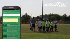 The SoccerXpert App Football Drills, Soccer Practice, Soccer Coaching, Youth Soccer, Kara, Mobile App, Training, Ideas, Soccer Training